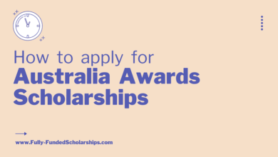 Australia Awards Scholarships 2022-2023 Deadline April 30, 2021