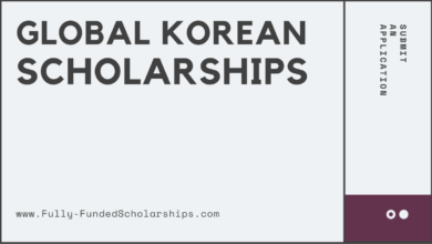 Global Korea Scholarship (GKS) 2022-2023 Submit an Application
