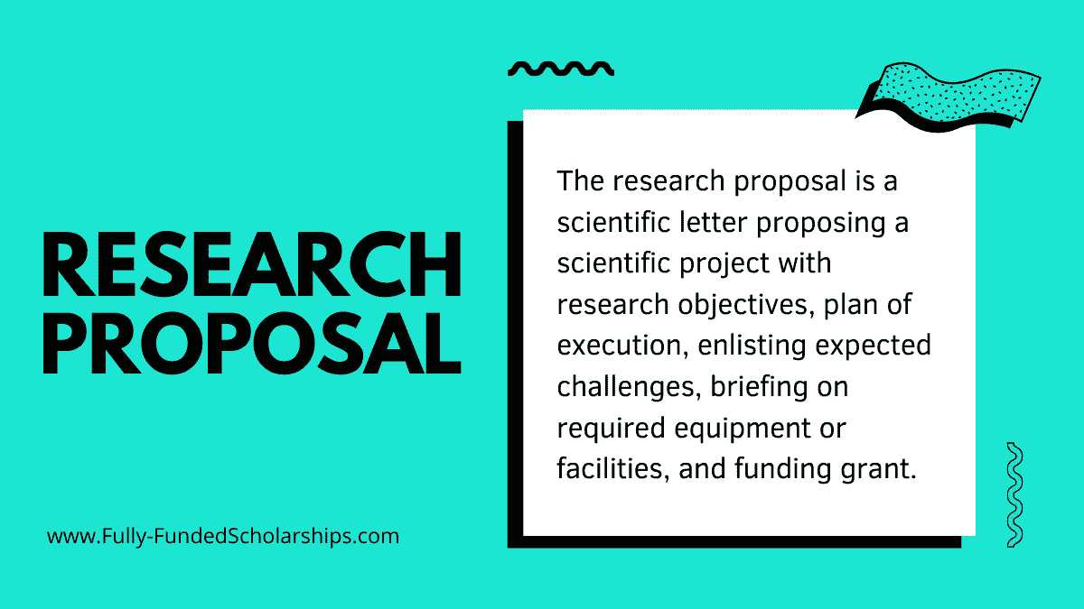 Research Proposal for Scholarship Applications with Example [Pro Guide]