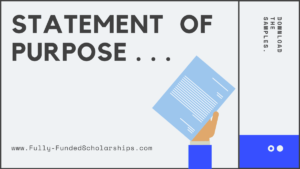 SOP for Scholarship Application Impressive Statement of Purpose for Scholarship & Admission Applications