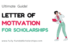 Successful Motivation Letter for Scholarship Application