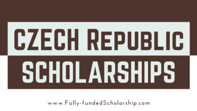 Czech Republic Scholarships 2022-2023 Online Application Submission Began