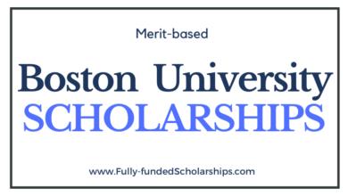 Boston University Scholarships 2021-2022 for International Students