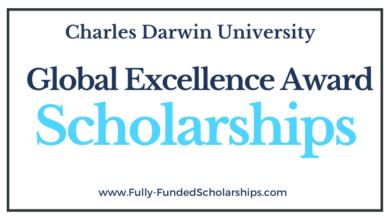Global Excellence Award 2022-2023 at Charles Darwin University
