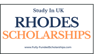 Rhodes Scholarships 2022-2023 at Oxford University