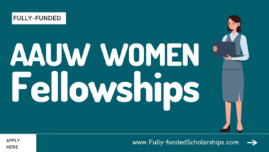 American Association of University Women (AAUW) Scholarships Submit an Application