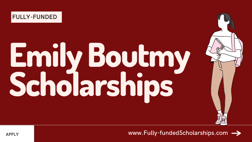 Apply for Emily Boutmy Scholarships by Science Po Online Application Portal