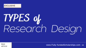 4 Types of Research Design