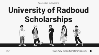 Fully-funded Radboud Scholarships at University of Radboud Netherlands