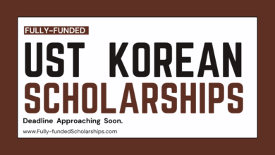 Fully funded South Korean UST Scholarships 2022-2023 Accepting Online Applications Now