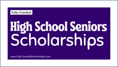 High School Seniors Scholarships (HS Class of 2022-2023) Scholarships