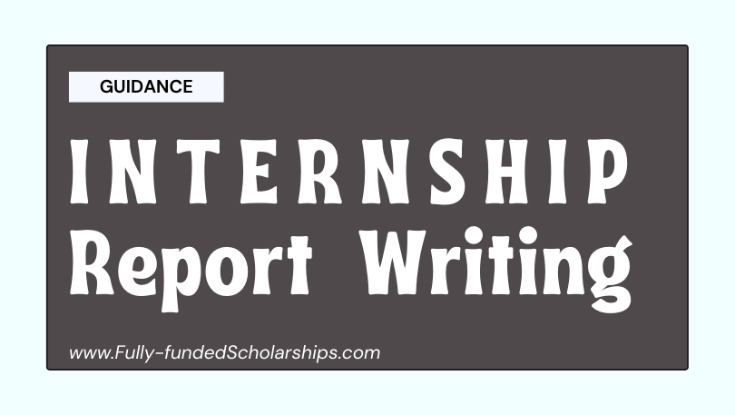 Internship Report Writing - Interns Report Format, Outline, and Structure